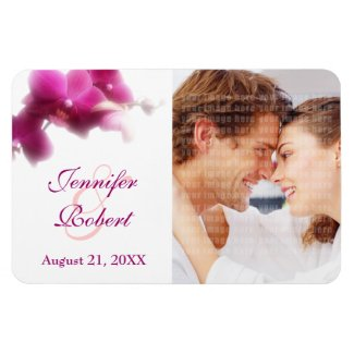 Photo Wedding Save the Date magnet