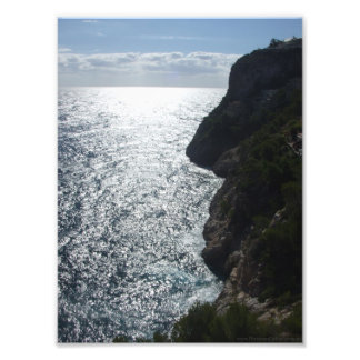 Photo with view of Majorca