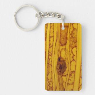 Photo Wood Grain Keychain