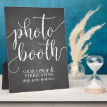 "Photobooth Wedding Sign- Grab a Prop Strike a Pose Plaque<br><div class=""desc"">Fun chalkboard wedding reception sign for your photobooth! Grab a prop and strike a pose!!</div>"