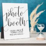 """Photobooth Wedding Sign- Grab a Prop Strike a Pose Plaque<br><div class=""""desc"""">Fun wedding reception sign for your photobooth! Grab a prop and strike a pose!!</div>"""