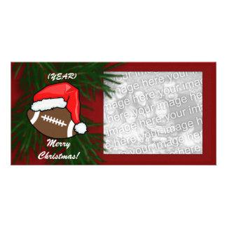 Photocard - Christmas Football Photo Card Template