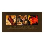 Photocard de las bendiciones de la acción de graci tarjetas personales con fotos