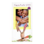 Photocard de Pascua Tarjeta Fotografica Personalizada