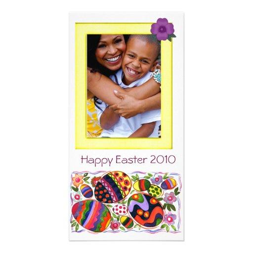 Photocard de Pascua Tarjetas Fotograficas