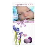 Photocard de Pascua Tarjetas Personales Con Fotos