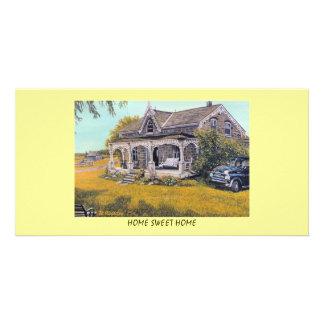 PhotoCard HOME SWEET HOME Photo Cards
