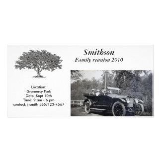 Photocard - invitación tarjeta personal con foto
