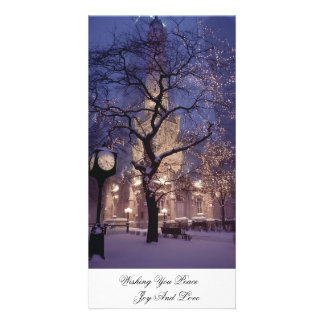 Photocard - Winter In The Park Photo Card