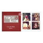 photocards del navidad del instagram tarjeta fotografica
