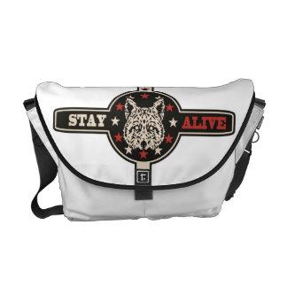 Photocoyote Messenger Bag Cream