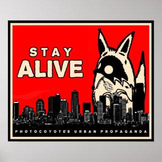 Photocoyote Urban Propaganda Poster