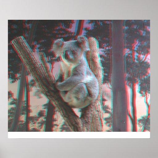 Photogenic Koala Poses For the Camera in 3D Print