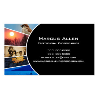 Photogragher 3 Double-Sided standard business cards (Pack of 100)