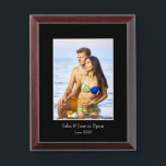 """Photograph Frame, Custom Photo – Personalized Award Plaque<br><div class=""""desc"""">A unique gift for your friends, family or loved ones - or a fun memento for you! simply upload, display and share your favorite photo on this great product. (Images with a centered subject work best) Ideal for creating a photo memory of your new born, your family, your pets, your...</div>"""