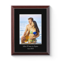 Photograph Frame, Custom Photo – Personalized Award Plaque