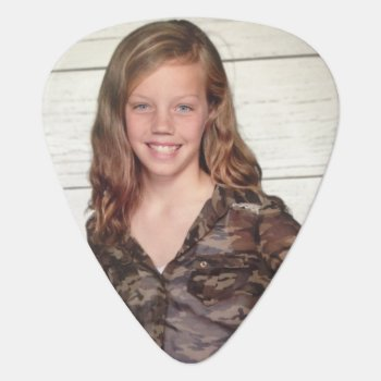 Photograph Guitar Pick by 4aapjes at Zazzle