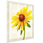 Photograph of A Black-Eyed Susan Blossom Gallery Wrapped Canvas