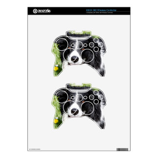 Photograph of a happy dog xbox 360 controller skins