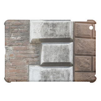Photograph of an old brick wall in Siena Italy. iPad Mini Covers
