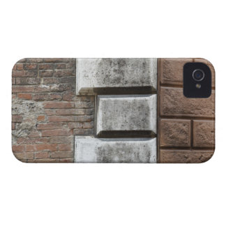 Photograph of an old brick wall in Siena Italy. iPhone 4 Case