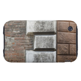 Photograph of an old brick wall in Siena Italy. Tough iPhone 3 Cases