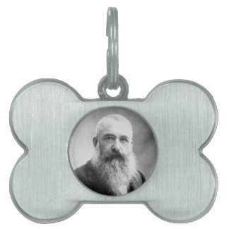 Photograph of Claude Monet by Nadar (1899) Pet Name Tag
