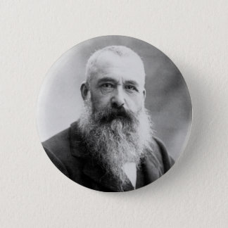 Photograph of Claude Monet by Nadar (1899) Pinback Button