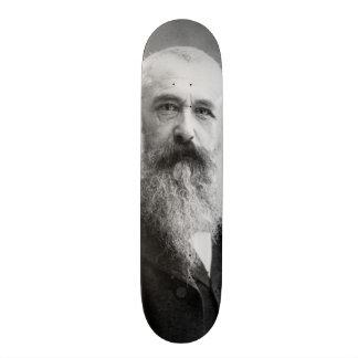 Photograph of Claude Monet by Nadar (1899) Skateboard Deck