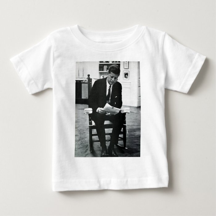 Photograph of John F. Kennedy 2 Baby T-Shirt