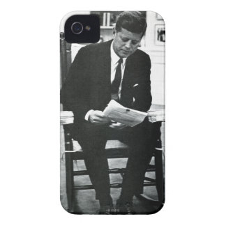 Photograph of John F. Kennedy 2 iPhone 4 Case-Mate Case