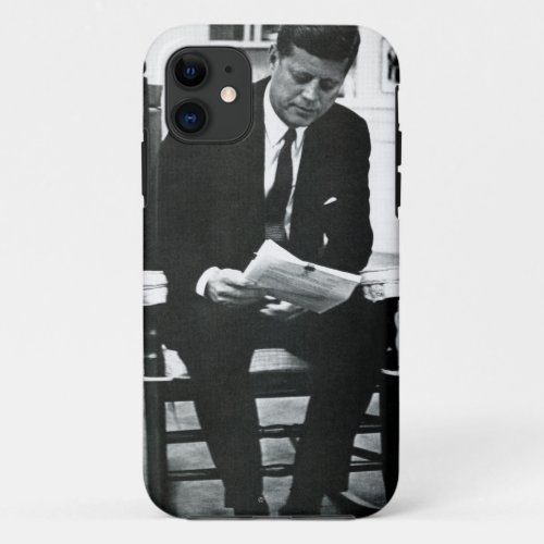 Photograph of John F. Kennedy 2 Phone Case