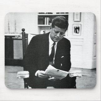 Photograph of John F. Kennedy 2 Mousepad