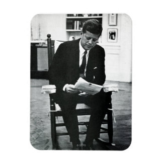 Photograph of John F. Kennedy 2 Magnets