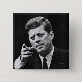 Photograph of John F. Kennedy 3 Button
