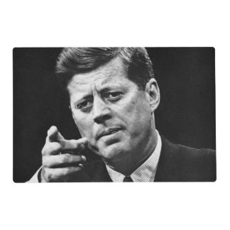 Photograph of John F. Kennedy 3 Placemat