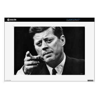 "Photograph of John F. Kennedy 3 15"" Laptop Skins"