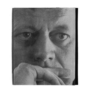 Photograph of John F. Kennedy iPad Folio Cases