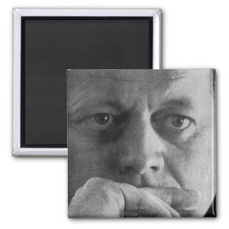 Photograph of John F. Kennedy Refrigerator Magnet