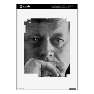 Photograph of John F. Kennedy Skin For iPad 3