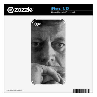 Photograph of John F. Kennedy Skin For iPhone 4S