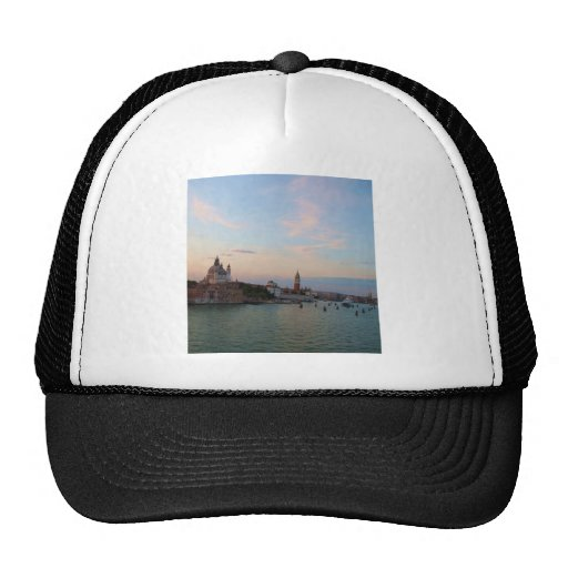 Photograph of Romantic Venice Lagoon Trucker Hat