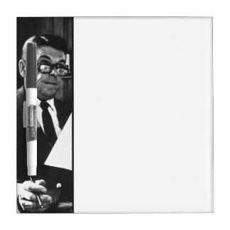 Photograph of Ronald Reagan Dry-Erase Whiteboard