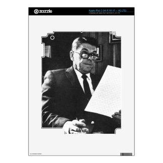 Photograph of Ronald Reagan iPad 3 Skin