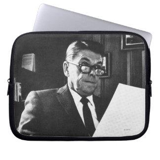 Photograph of Ronald Reagan Laptop Sleeve