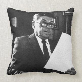 Photograph of Ronald Reagan Pillow