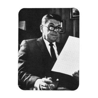 Photograph of Ronald Reagan Rectangular Photo Magnet