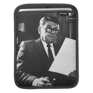 Photograph of Ronald Reagan Sleeve For iPads