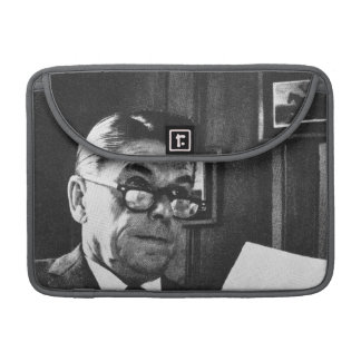 Photograph of Ronald Reagan Sleeve For MacBook Pro