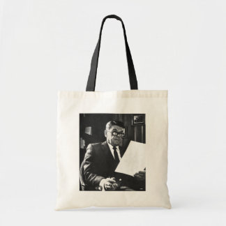 Photograph of Ronald Reagan Tote Bag